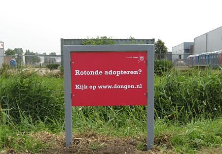 rotonde adobteren in Dongen